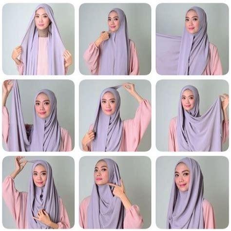 tutorial pashmina menutupi dada 10 best cara pakai shawl tudung labuh yang cantik dan