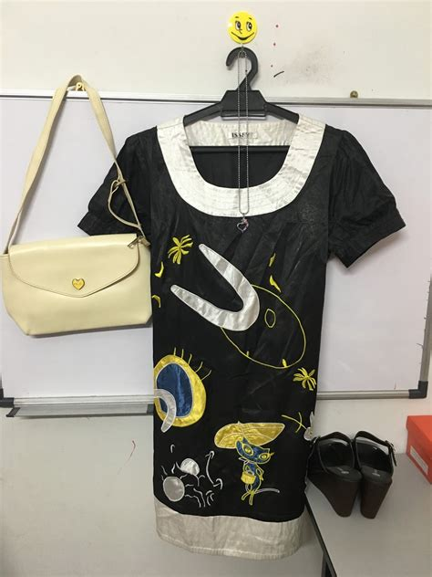 Blouse Sulam mama3sicomel blouse hitam sulam rm10
