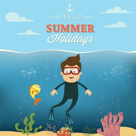 design summer year definition colorful summer design vector free download