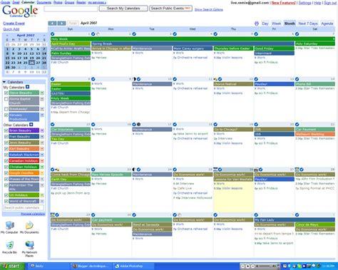 google calendar agenda calendar template 2016