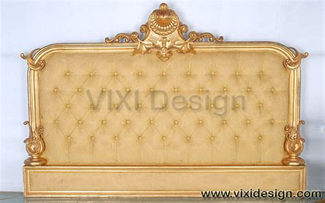 gold leaf headboard gold leaf headboard classic french style vixi design