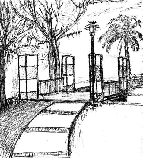 sketchbook park the impulsive sketch journal new park sketch