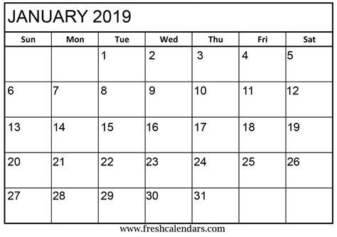 printable calendar freshcalendarscom