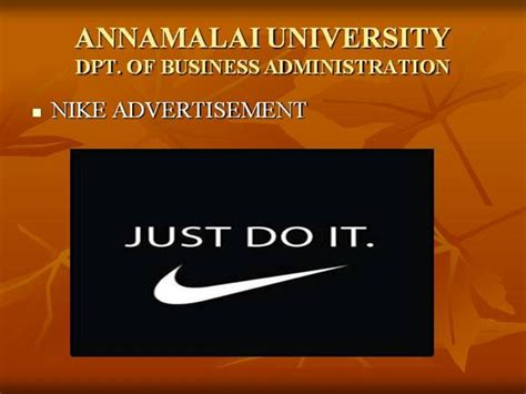 nike powerpoint template nike ppt authorstream
