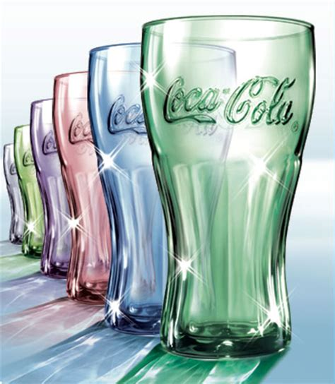 what does colored glasses classic coke bottles a draw for mcdonald s customers chs