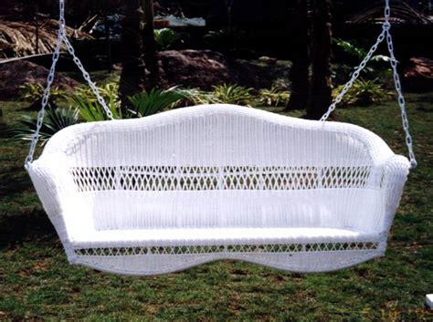 sahara swing sahara resin wicker porch swing cdi 001ps