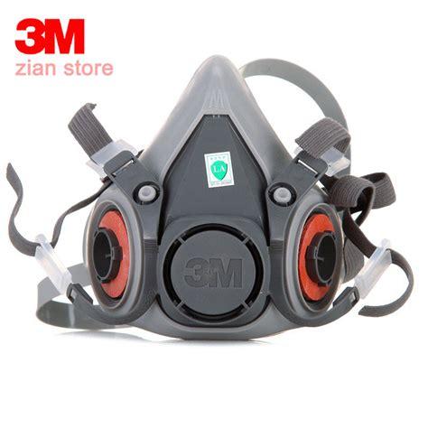 Baoweikang Masker Gas Respirator aliexpress buy 3m 6200 respirator gas mask chemical filter paint spray half
