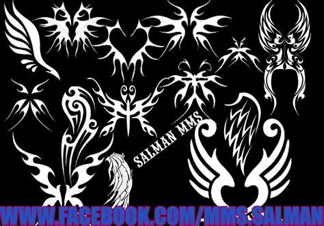 dragon wings tattoo wings brush pack