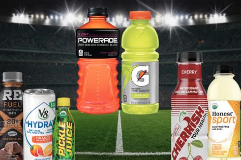 crowded playing field  sports drinks