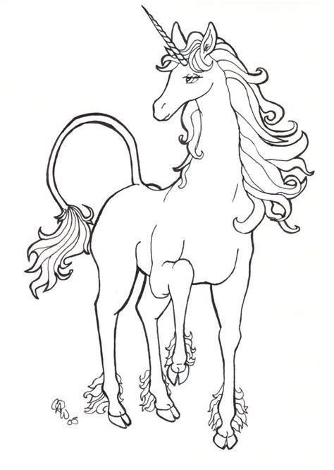 The Last Unicorn Coloring Pages Unicorn By Maverick Decadence On Deviantart U N I C O R