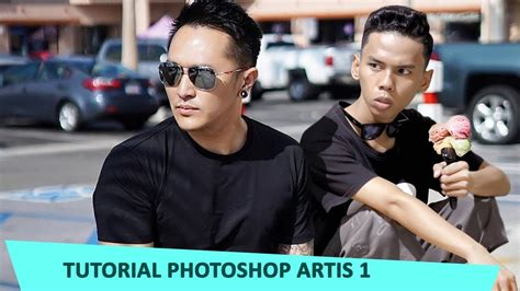 tutorial edit foto bareng artis edit bareng artis demian aditya tutorial 1 youtube
