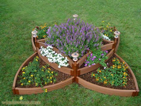 multi level raised planter box unique raised garden