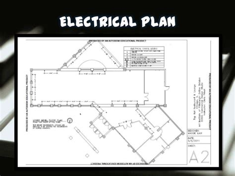electrical layout plan of a restaurant restaurant design presentation