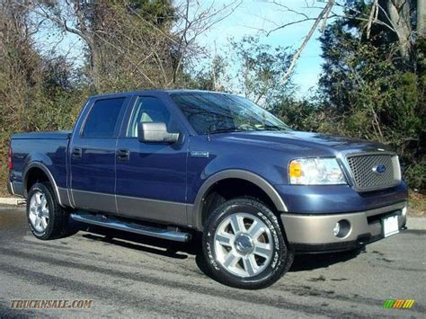 ford 2006 f150 2006 ford f150 lariat supercrew 4x4 in medium wedgewood