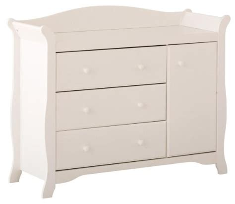 white changing table dresser combo white dresser changing table stork craft aspen combo