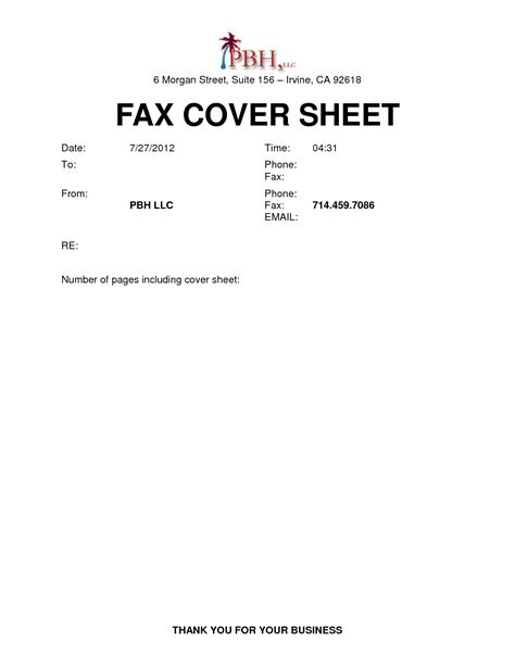 template fax cover sheet microsoft word best photos of blank fax cover sheet microsoft word