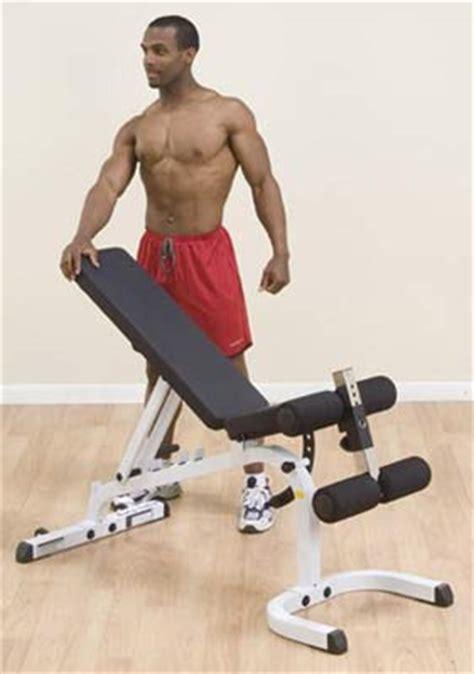 Banc Plat Musculation by Banc De Musculation Bodysolid Banc Plat Inclin 233 D 233 Clin 233