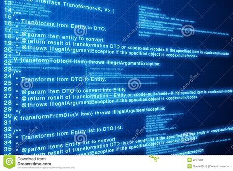 Background Studio Abstrak 2 5 X 3m Kode Mt 04 computer code blue screen stock image image of