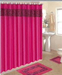 4 bath rug set pink zebra 3 bathroom rugs
