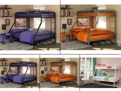 dorm bunk beds space saver bunk beds twin over full metal kids teen dorm