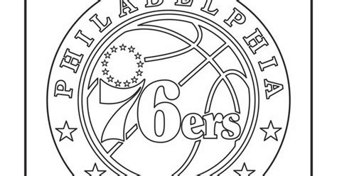 76ers Coloring Page by Nba 76ers Pages Coloring Pages
