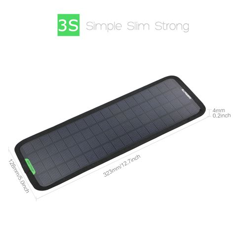 how to build a solar battery charger 12v new smart 12v 5w portable car boat power solar panel