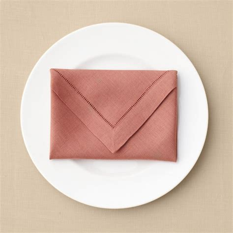 Paper Napkin Folding Ideas For Weddings - envelope napkin fold martha stewart weddings