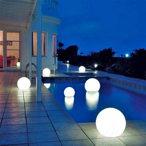Floating Mood Light Luxury Ball Led For Swimming Pool Spa Pool Patio Lighting