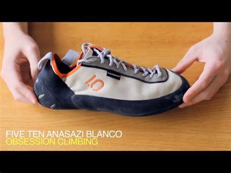 5 10 climbing shoes review review five ten anasazi blanco climbing shoe lace up v2