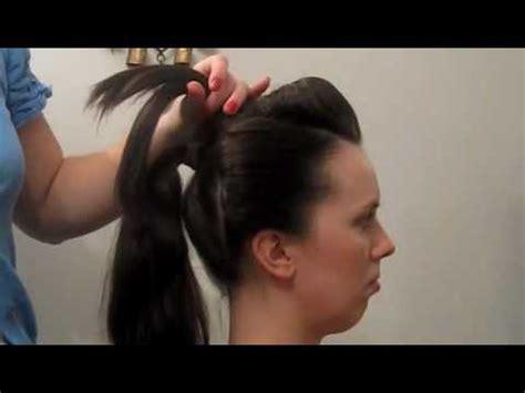 how to do geisha hairstyles geisha hairstyle fryzura gejszy for halloween youtube
