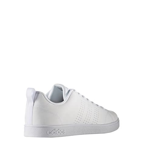 Adidas Advantage Leather adidas advantage leather white mens b74685 apparelicks