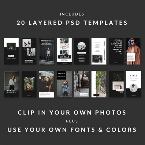 best instagram layout ideas best instagram story ideas 20 chic stylish templates