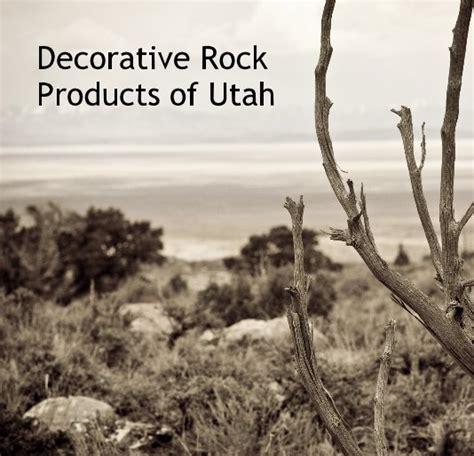 Decorative Rock Products Of Utah By Winkbug Blurb Books Landscape Rock Utah