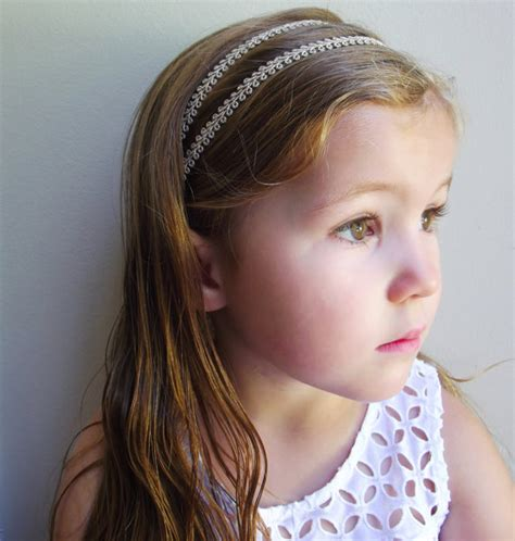 Wedding Hair Accessories For Toddlers by Boho Strand Gold Headband Metallic Hippie