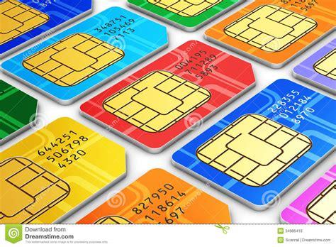 micro sim card template 8 5x 11 sim cards royalty free stock photos image 34986418