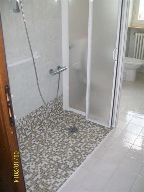 piatto doccia filo pavimento piastrellabile progetto trasformazione doccia a filo pavimento idee