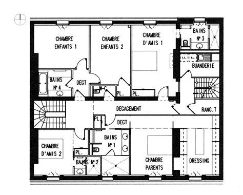 plan maison architecte architecture photography entrance floor