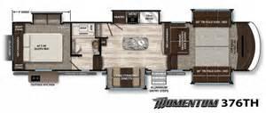 fifth wheel hauler floor plans 2017 grand design momentum 376th hauler fifth wheel