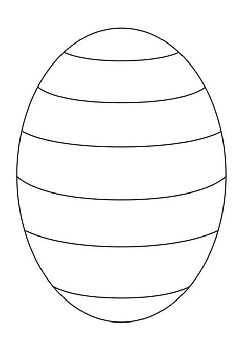 kuchen für den kindergarten blank easter egg template to create your own patterns for