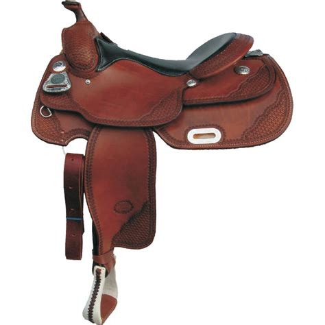Equine Home Decor classic pro reiner saddle by billy cook