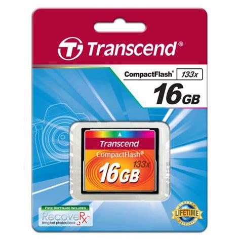 Memori Bagus Sandisk Cf Ultra 16 Gb Speed 50 Mbs 333 X transcend 133x 16gb cf compact flash memory card