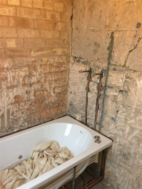 removing wall tiles in bathroom slate grey finished jacuzzi shower bathroom suite fully fitted