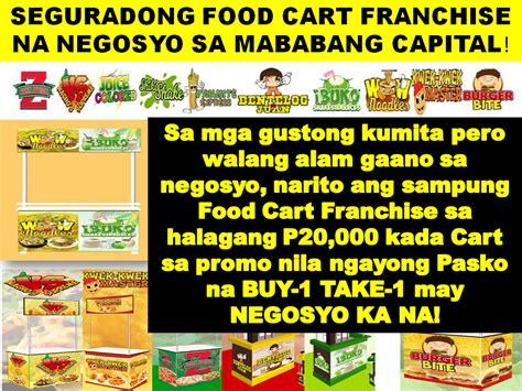 food cart franchise below 50k thoughtskoto
