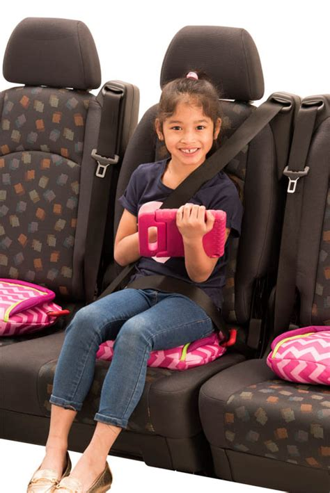 bubblebum car seat bubblebum backless booster car seat foldable