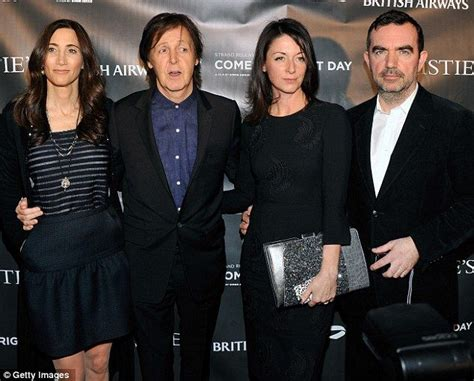 Paul Mccartney Stepping Out With A New Friend by A Family Affair Sir Paul Mccartney Steps Out With