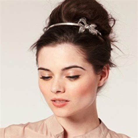 what kind of side bun is good for big forehead 5 lovely bun hairstyles slide 6 ifairer com