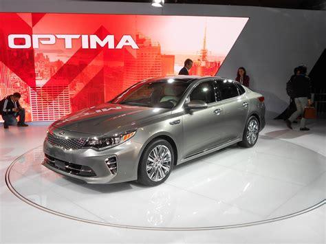 Kia Cars York Kia Optima At The 2015 New York International Auto Show By