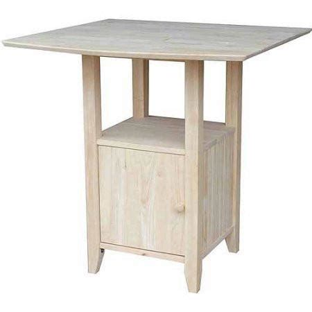 Unfinished Bar Table Unfinished Wood Dining Kitchen Accent Tables Table Tops Pedestals Unfinishedfurnitureexpo