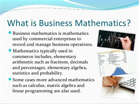 Mba Business Maths Notes by Maju Pakistan Guest Talk On Business Math