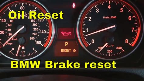 How To Reset Bmw Service Light by 2011 Bmw 328i 335i 335xi 328xi Reset Brake Reset